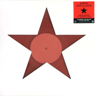 Blackstar single (David Bowie Is exhibition, Japan, 2017)