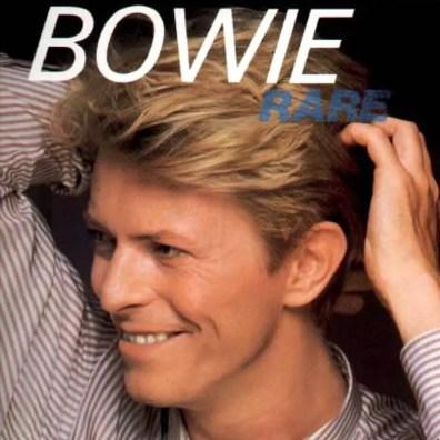 Bowie Rare compilation (1982) cover artwork