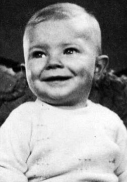 David Bowie as a baby, 1940s