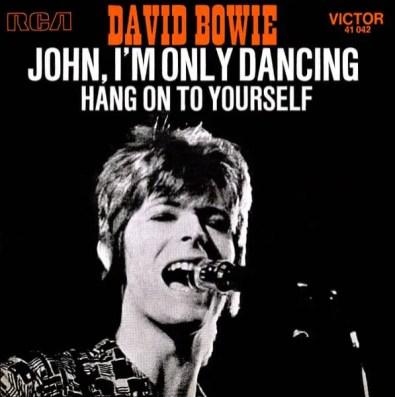 John, I'm Only Dancing single –France