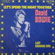 Let's Spend The Night Together single – France