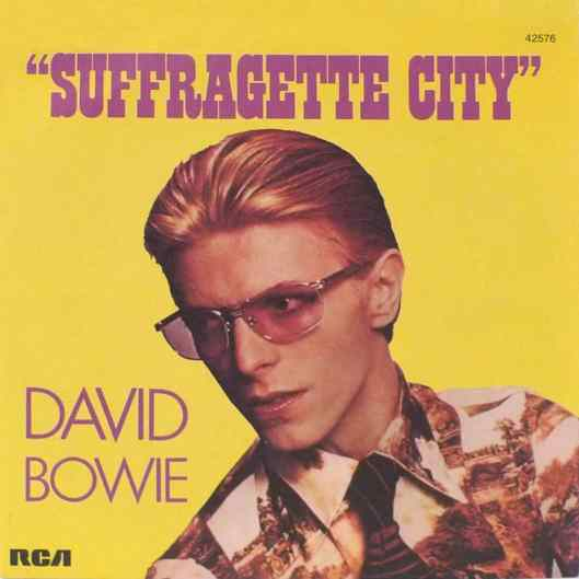 Suffragette City single – France