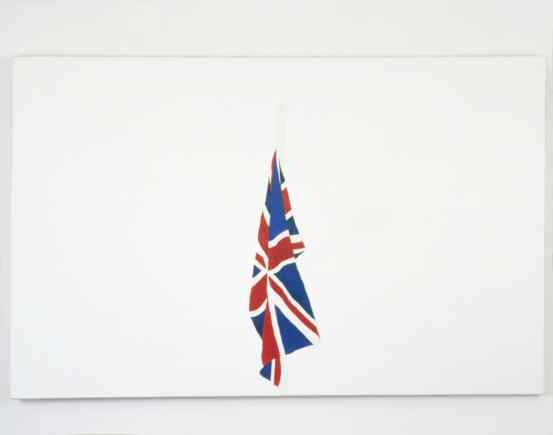 Indoor Flag by Gavin Turk (1995)