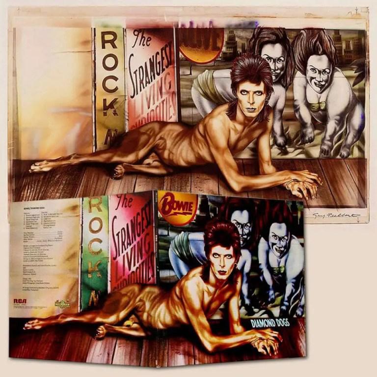 Guy Peellaert's artwork for David Bowie's Diamond Dogs