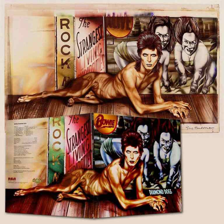 Guy Peellaert's artwork for David Bowie's Diamond Dogs