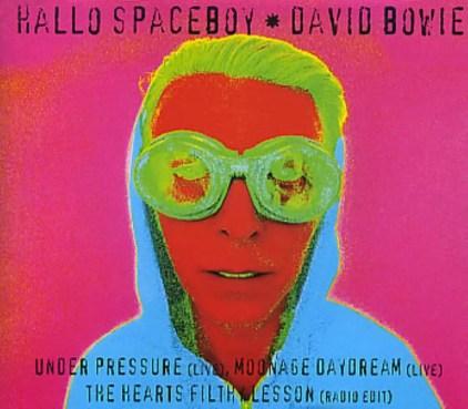 Hallo Spaceboy CD single