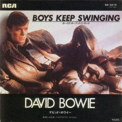 Boys Keep Swinging single –Japan