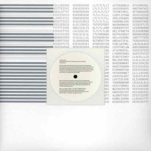 Love Is Lost (Hello Steve Reich Mix by James Murphy for the DFA) single