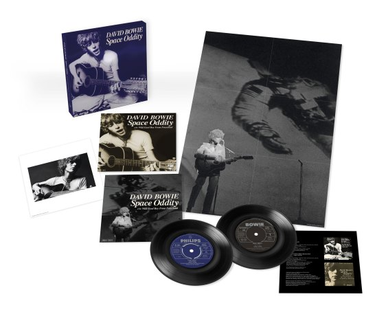 Space Oddity 50th Anniversary Edition single box set contents (2019)