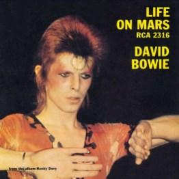 Life On Mars? single –United Kingdom