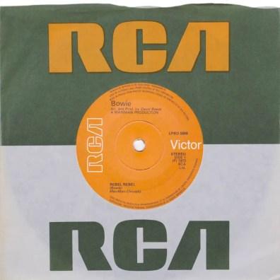 Rebel Rebel single –United Kingdom
