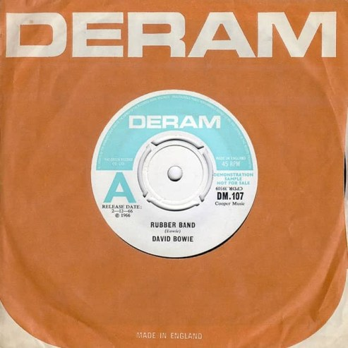 Rubber Band single –United Kingdom