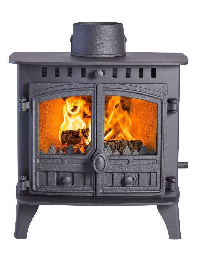 Buy: Hunter Herald 6 Double-Sided Double Depth Stove