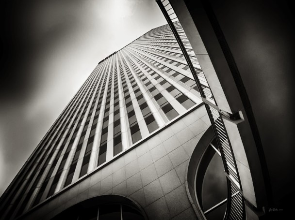 Williams Tower from Street Level