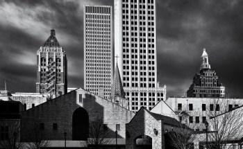 Tulsa Skyline Shadows