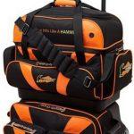 Hammer Premium 4-ball Sac de bowling empilable, noir/orange, taille unique