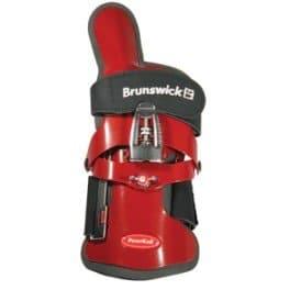 Brunswick Powrkoil XF Gant de poignet pour bowling rouge Rouge L/gaucher