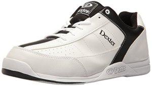 Dexter Ricky III Chaussures de bowling pour homme Blanc blanc/noir US 7.5, UK 6