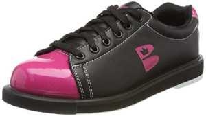 Brunswick T Zone Chaussures BOWLING, femme, T Zone, noir/rose