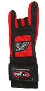 Columbia 300 Pro Gant de bowling avec support de poignet pour gaucher rouge Rouge xx-large