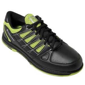 Brunswick arrow chaussures de bowling larges pour homme noir/citron vert black lime 45.5