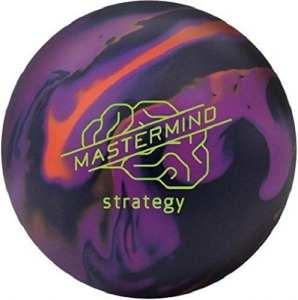 Brunswick mastemind Strategy Boule Bowling Unisexe Adulte, Mastemind Strategy, Bleu/Violet / Orange