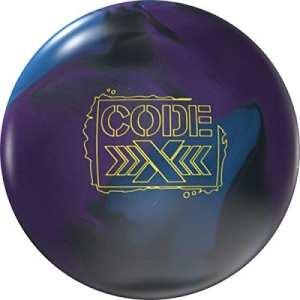 Storm Bowling Code x Boule de bowling Boule de bowling haute performance réactive avec beaucoup beaucoup Arc à huile, 16 LBS