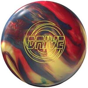 Storm Drive High Performance de bowling Ball Boule de bowling avec beaucoup Arc reaktiv Ligne Signature avec eMax Nettoyeur et serviette microfibre, 15 LBS