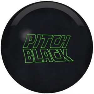 Storm Pitch Black Boule de Bowling, 15-Pound