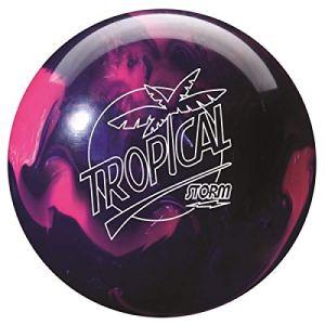 Storm Tropical Boule de Bowling réactive idéale pour Les débutants en Arc, pour Les Hommes et Les Femmes, Rose/Lilas, 10 LBS