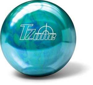 Brunswick Boule de Bowling de Bowling Zone T Cosmic–Caribbean Blue