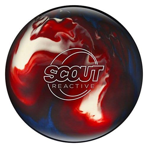 Columbia Bowlerstore Products 300Scout Reactive Boule de Bowling Rouge/Blanc/Bleu, 300 Scout Reactive Red/White/Blue Bowling Ball, Rouge/Blanc/Bleu, 12 LB