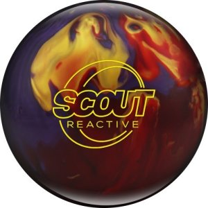 Columbia Scout Reactive Boule de Bowling Rouge/Violet/doré, 300 Scout Red/Purple/Gold, Red/Purple/Gold
