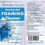 Bowling-Exclusif Mousse nettoyante pour boules de bowling