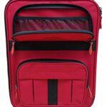 Acclaim Redcar Sac de bowling professionnel pour boules de bowling – Vert – Tapis plat court pour intérieur et extérieur – Rouge/noir