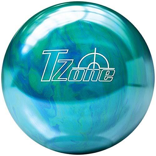 Brunswick Balle de bowling TZone Caraïbes Bleu Cosmic dans tous les poids Taille 6 LBS