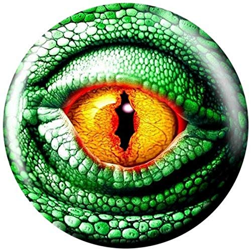 Brunswick Balle de bowling Viz-a-Ball de Lizard Eye de 30 kg.