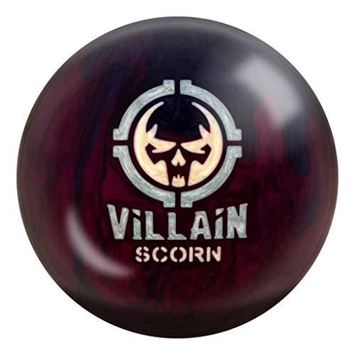 Motiv vilain Scorn Boule de bowling Prune/gris perle, MOTIV Bowling Products, Plum/Grey Pearl, 14 lb.