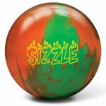 Radical Sizzle, Sizzle Bowling Ball Neon Orange/Neon Green, Neon Green/Neon Orange, 16