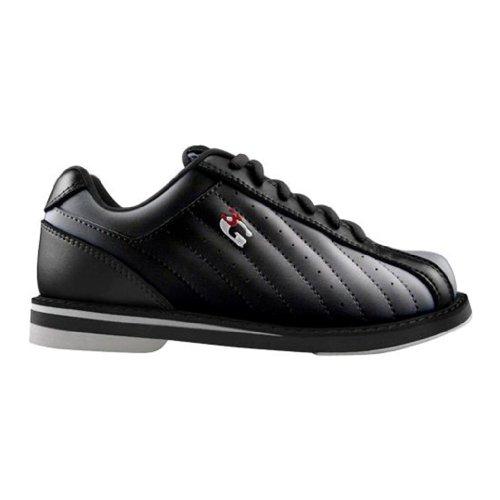 900 Global Coups de Pied Chaussures de Bowling, Homme, DT200 060, Noir, Men's 6.0/Ladies 8.0