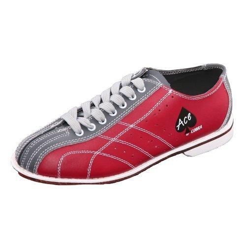 Bowlerstore Bshs200s14Homme Cobra Rental Chaussures de Bowling (111/2m US), Rouge/Gris, 1/2US M