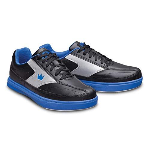 Brunswick Renegade Chaussures de bowling pour homme et femme pour droitiers et gauchers 4 couleurs Pointure 38-47 – Multicolore – noir/bleu, 38.5 EU