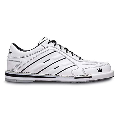 Brunswick Products, Team Chaussures de Bowling pour Homme Blanc Pointure 43, 9.5 UK