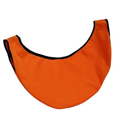 Sharplace Accessoire de Bowling de Polisseur de Nettoyeur de Bowling de Sac de Boule de Bowling Portatif – Orange, 50X23cm