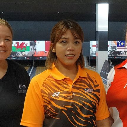 Safiyah, Whiting, Daly to bowl for the medals in CTBC Women's Masters