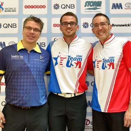 Team USA's Chris Via wins qualifying at Men's World Singles Championships