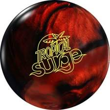 Black and Copper Storm Tropical Surge Bowling Ball