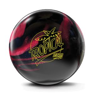 Black & Cherry Storm Tropical Breeze with hybrid coverstock