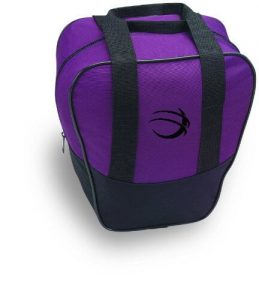 Purple Simple Single Ball Bowling Bag