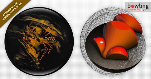 Hammer Black Widow Black Gold Bowling Ball Review